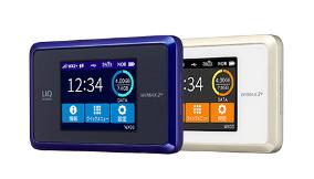 UQ WiMAX口座振替で選べるルーターWX03
