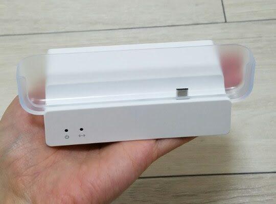 BIGLOBE WiMAX口座振替でゲットしたW03のクレードル