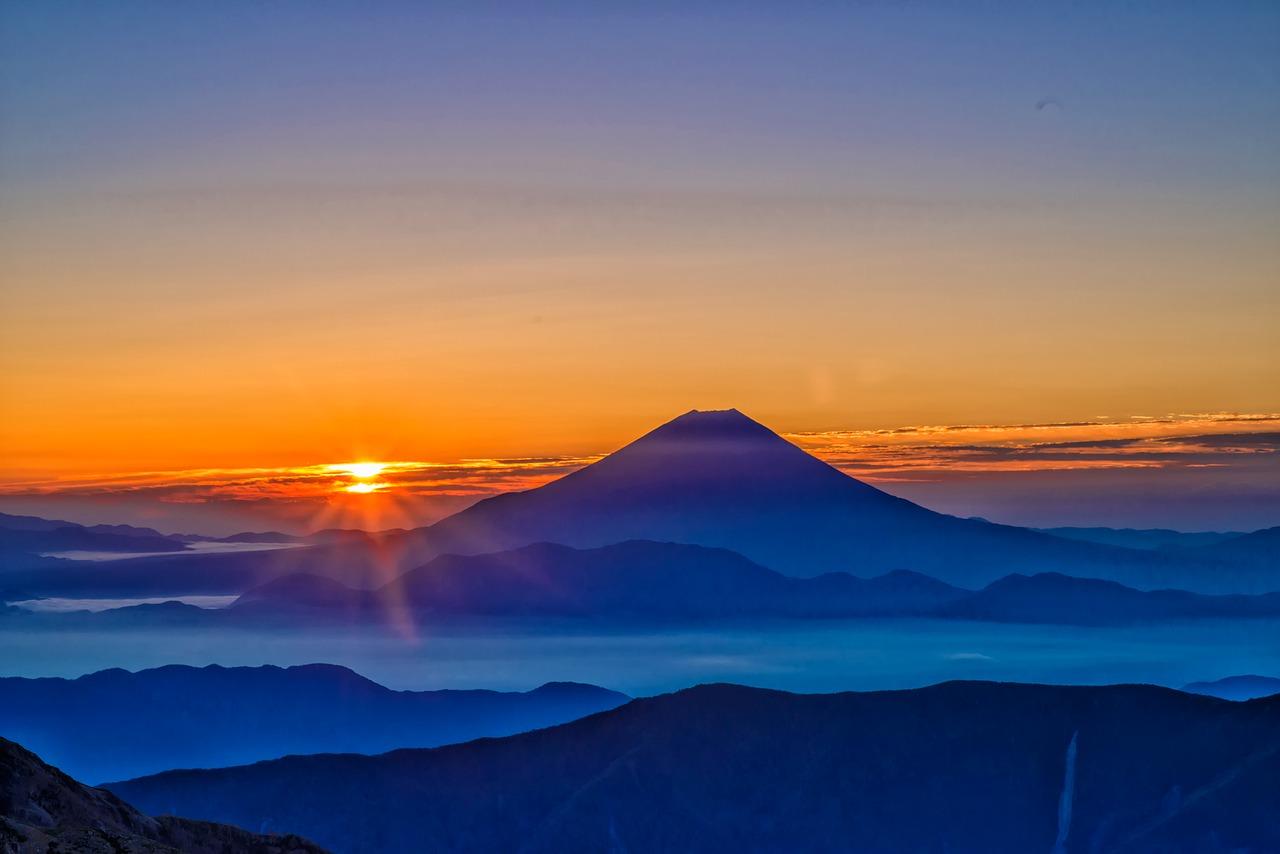 富士山でもWiMAXはつながる!