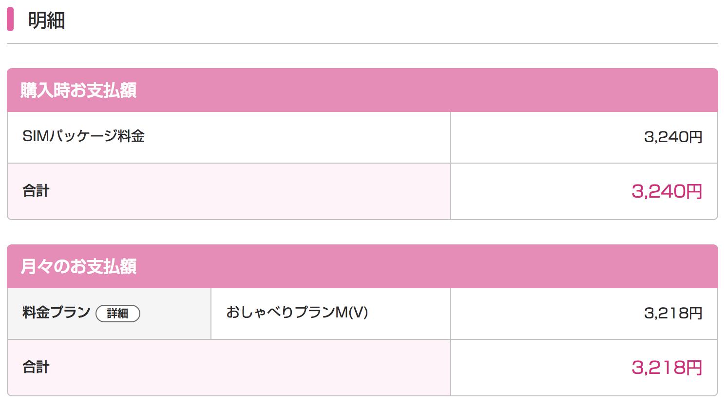 【iPhone×UQモバイル】料金明細を確認